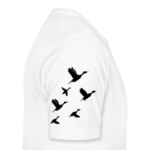 gaggle of geese - Men's Premium T-Shirt