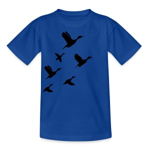 gaggle of geese - Kids' T-Shirt