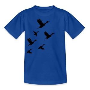 gaggle of geese - Teenage T-shirt