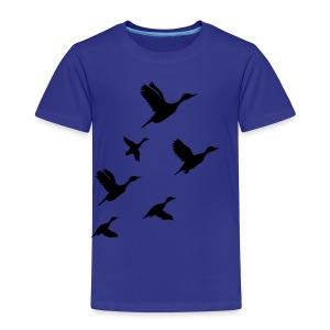 gaggle of geese - Kids' Premium T-Shirt