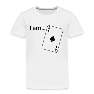 I am ACE - Flock Print - Long Sleeve - Kids' Premium T-Shirt