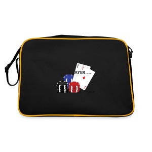 Best Poker Player Badge - Retro Bag