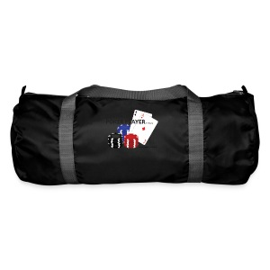 Best Poker Player Badge - Duffel Bag