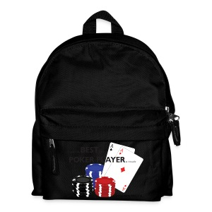 Best Poker Player Badge - Kids' Backpack
