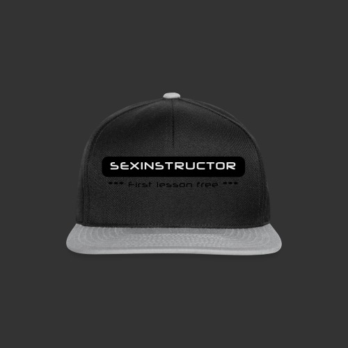 Sexinstructor -first lesson free- - Snapback Cap