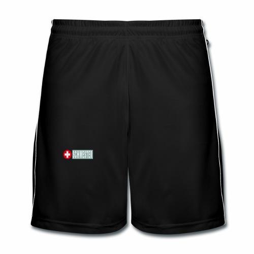 Mütze Krankenschwester - Männer Fußball-Shorts