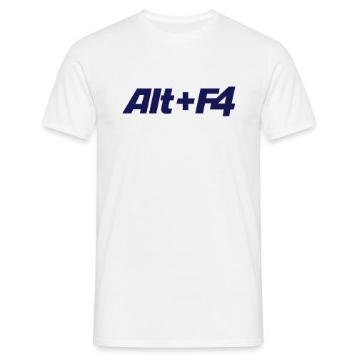 alt+F4 - Männer T-Shirt