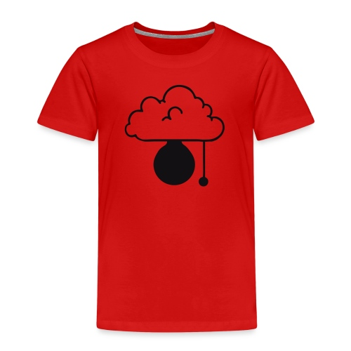 ERLEUCHTUNG-red|reflex (Boys) - Kinder Premium T-Shirt
