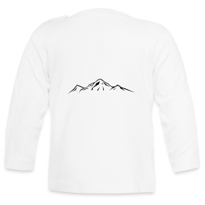 Mountain hooded jacket - Baby Long Sleeve T-Shirt