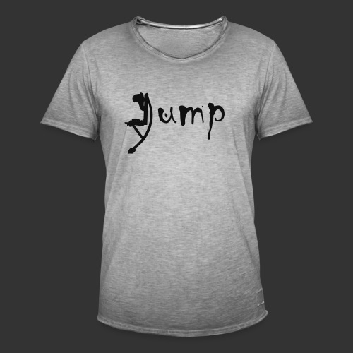 Jump!!! - Männer Vintage T-Shirt
