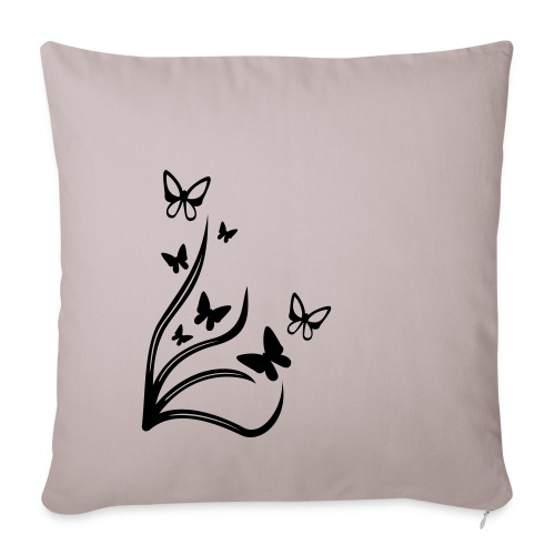 Butterflies - Sofa pillow cover 44 x 44 cm
