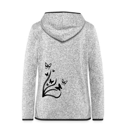 Butterflies - Women's Hooded Fleece Jacket