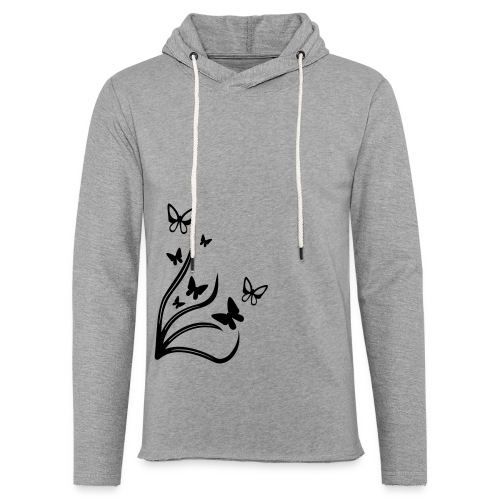Butterflies - Light Unisex Sweatshirt Hoodie