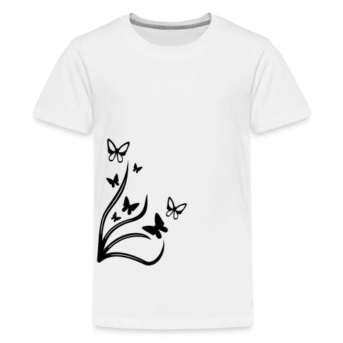 Butterflies - Teenage Premium T-Shirt