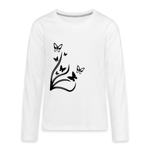 Butterflies - Teenagers' Premium Longsleeve Shirt
