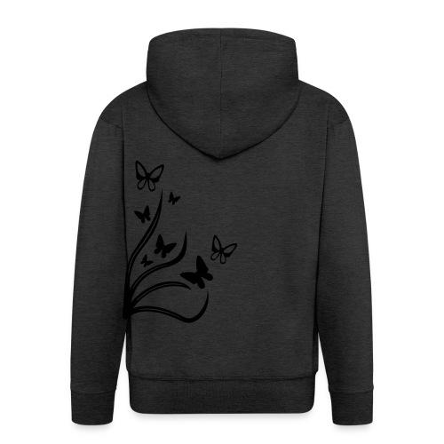Butterflies - Men's Premium Hooded Jacket
