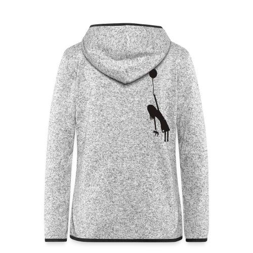 Fly away girl - Women's Hooded Fleece Jacket