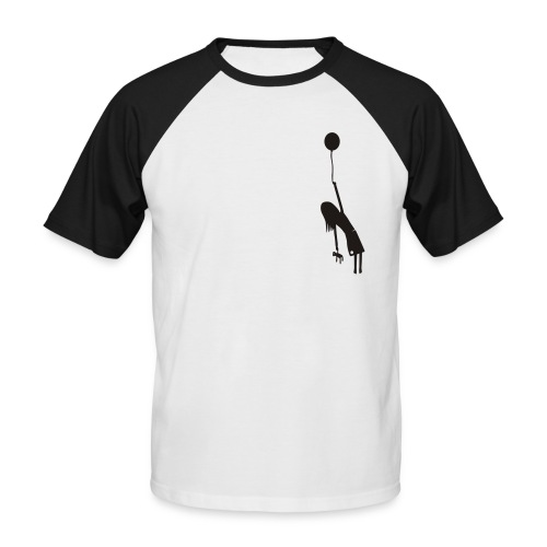 Fly away girl - Men's Baseball T-Shirt