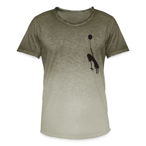 Fly away girl - Men's T-Shirt with colour gradients
