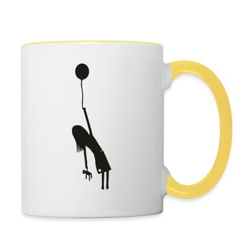 Fly away girl - Contrasting Mug