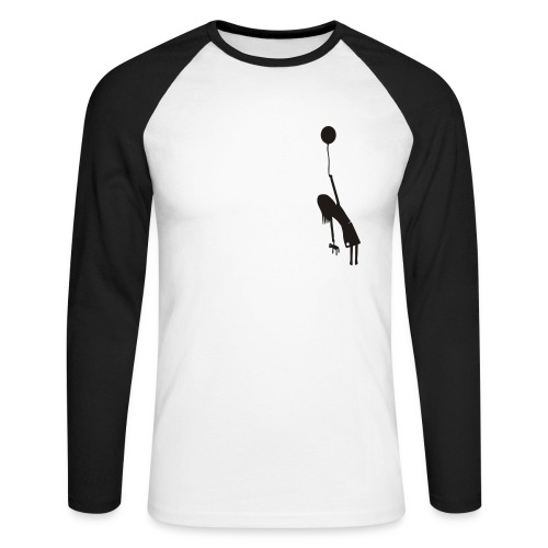 Fly away girl - Männer Baseballshirt langarm