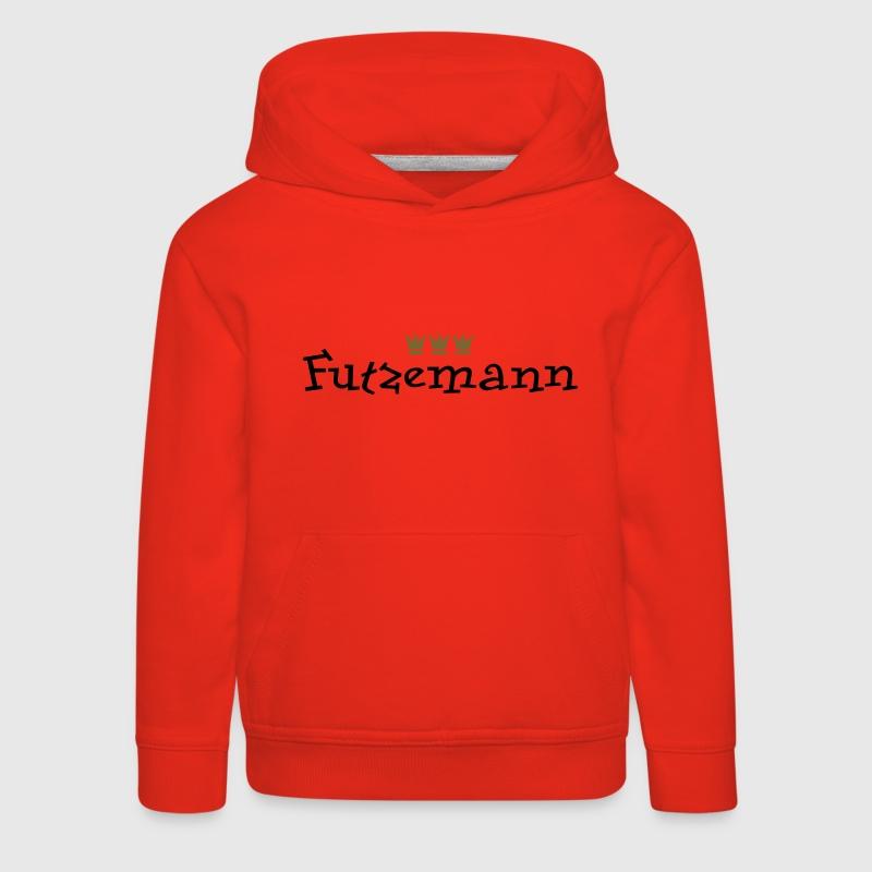 Rot Futzemann (Kölsch) Kinder Pullover - Kinder Premium Hoodie