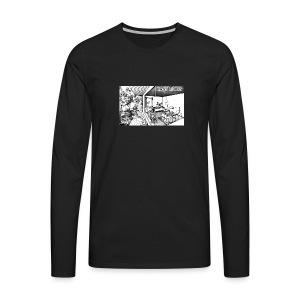 Easy Living - Männer Premium Langarmshirt