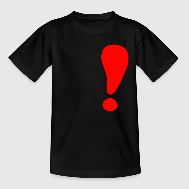 point d'exclamation - T-shirt Ado