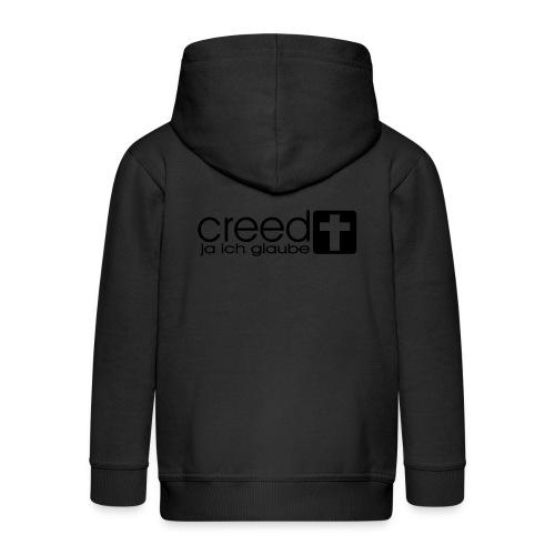CREED-black gold (Boys) - Kinder Premium Kapuzenjacke