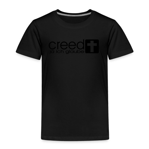 CREED-black gold (Boys) - Kinder Premium T-Shirt