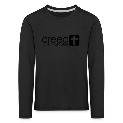 CREED-black gold (Boys) - Kinder Premium Langarmshirt