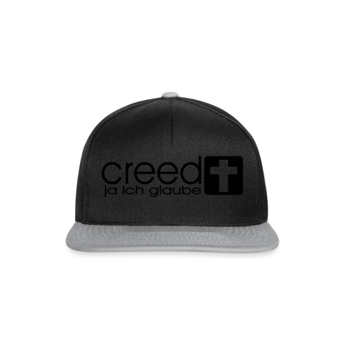 CREED-black|gold (Boys) - Snapback Cap