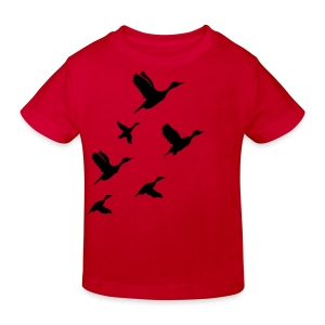 gaggle of geese - Kinder Bio-T-Shirt