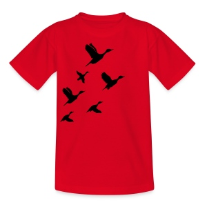 gaggle of geese - Teenager T-Shirt