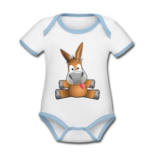 eMule Mug - Organic Baby Contrasting Bodysuit