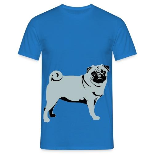 Schürze Mops - Männer T-Shirt