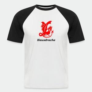 Hausdrache_Küche - Männer Baseball-T-Shirt