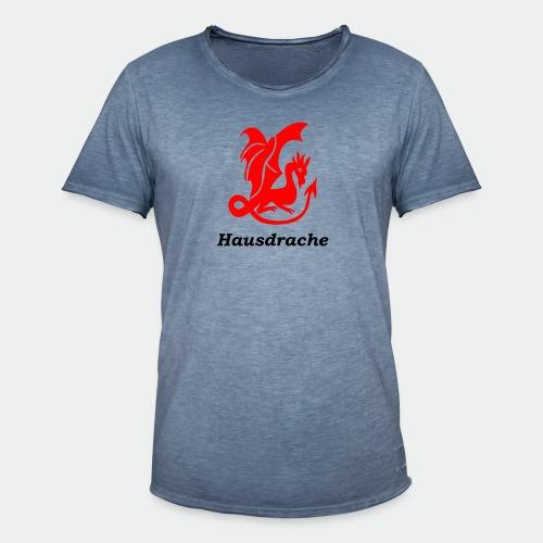Hausdrache_Küche - Männer Vintage T-Shirt