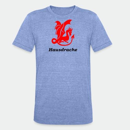 Hausdrache_Küche - Unisex Tri-Blend T-Shirt von Bella + Canvas