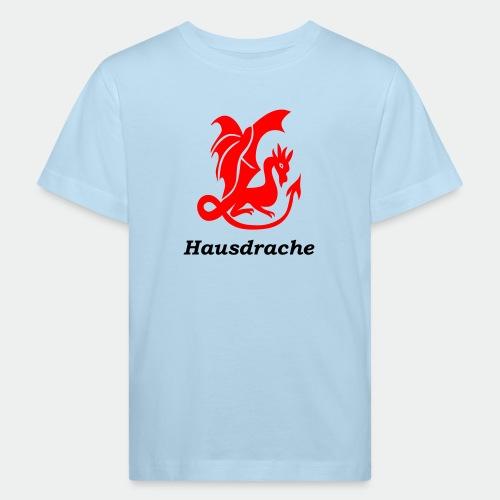 Hausdrache_Küche - Kinder Bio-T-Shirt