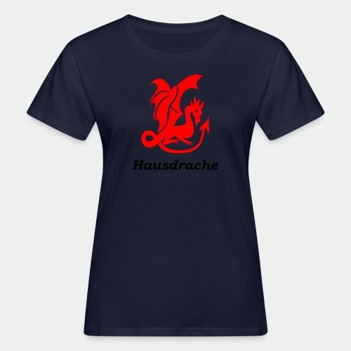 Hausdrache_Küche - Frauen Bio-T-Shirt