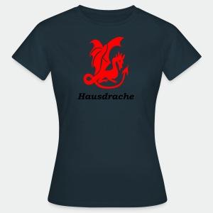 Hausdrache_Küche - Frauen T-Shirt