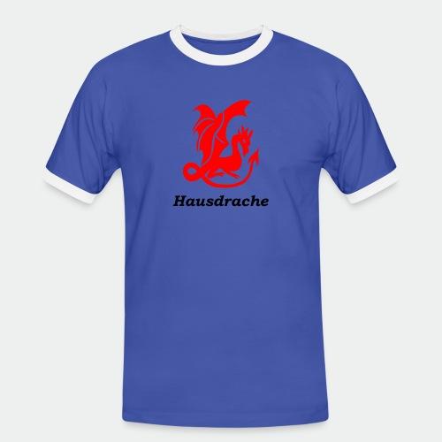 Hausdrache_Küche - Männer Kontrast-T-Shirt