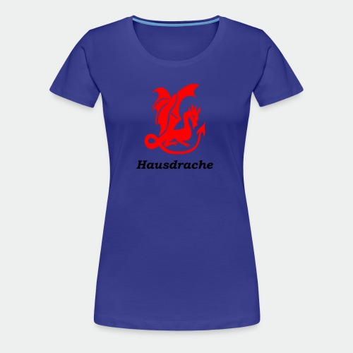 Hausdrache_Küche - Frauen Premium T-Shirt