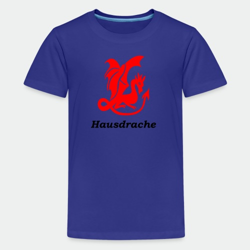 Hausdrache_Küche - Teenager Premium T-Shirt