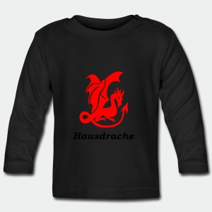 Hausdrache_Küche - Baby Langarmshirt