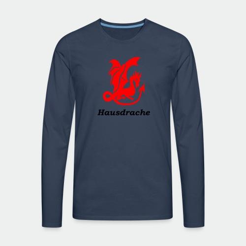 Hausdrache_Küche - Männer Premium Langarmshirt