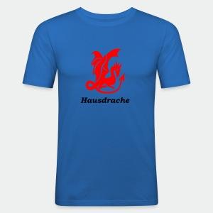 Hausdrache_Küche - Männer Slim Fit T-Shirt