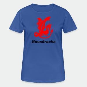 Hausdrache_Küche - Frauen T-Shirt atmungsaktiv