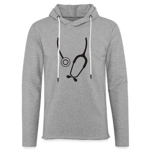 Stethoskop - Leichtes Kapuzensweatshirt Unisex